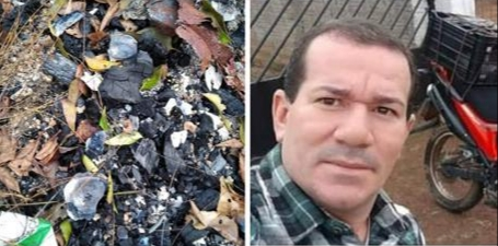 CARBONIZADO: Corpo de professor desaparecido é encontrado e assassino preso