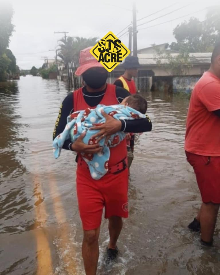 SOLIDARIEDADE: Porto Velho se mobiliza para ajudar o Acre que está em situação de emergência