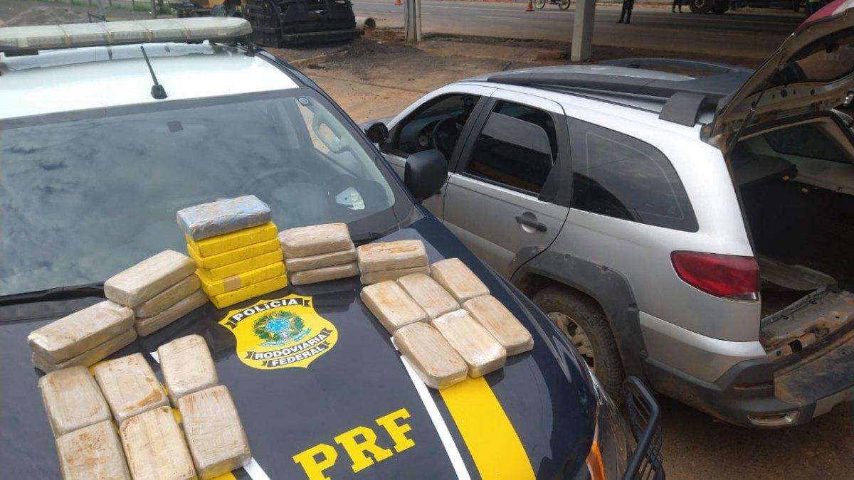 FLAGRANTE MILIONÁRIO: PRF prende casal com droga avaliada em mais de R$ 3 milhões em RO