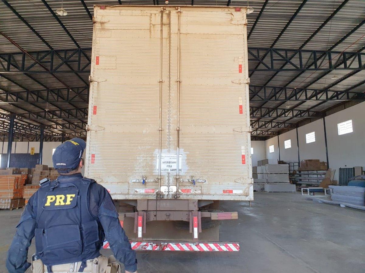 REINCIDENTE: Empresa é flagrada transportando medicamentos de forma irregular na BR-364
