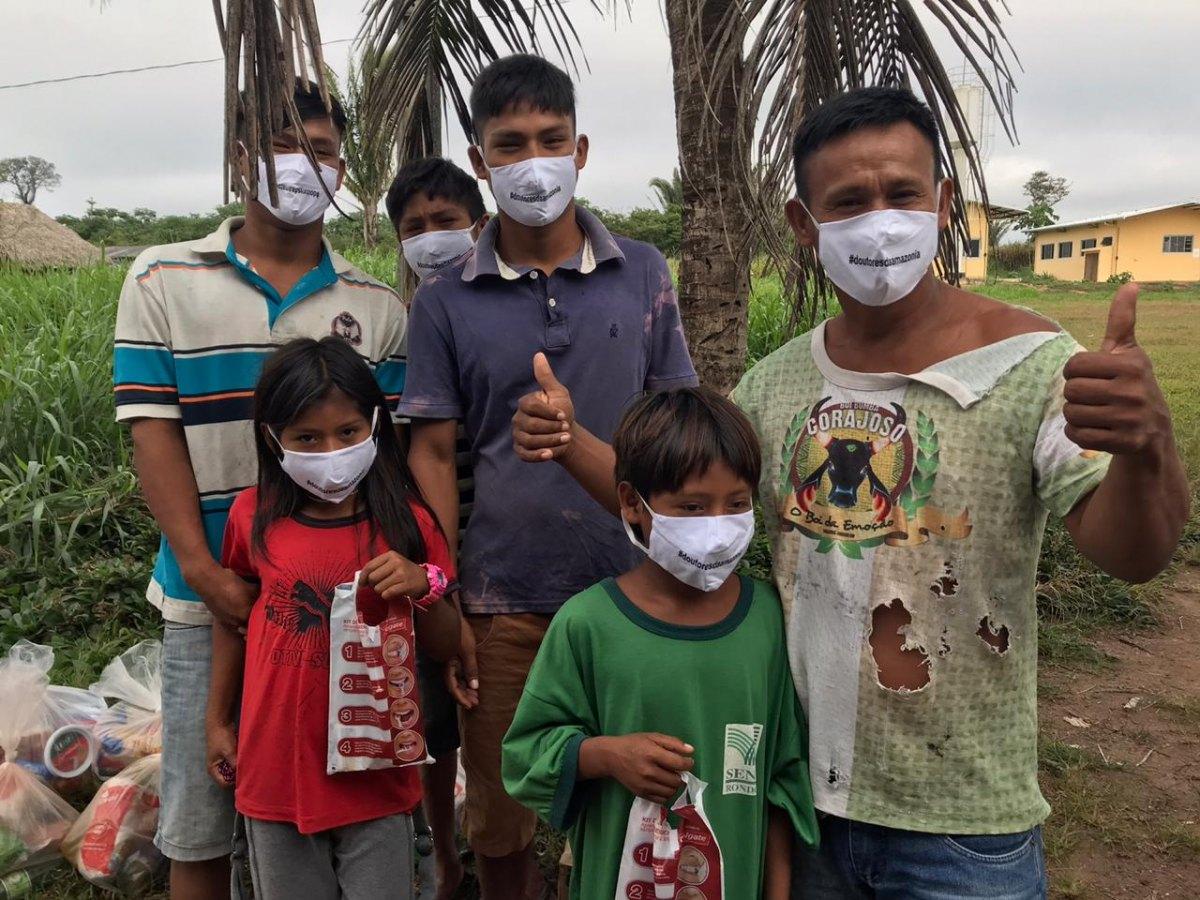 SAÚDE INDÍGENA: Comunidades indígenas de RO recebem equipamentos de proteção nas aldeias