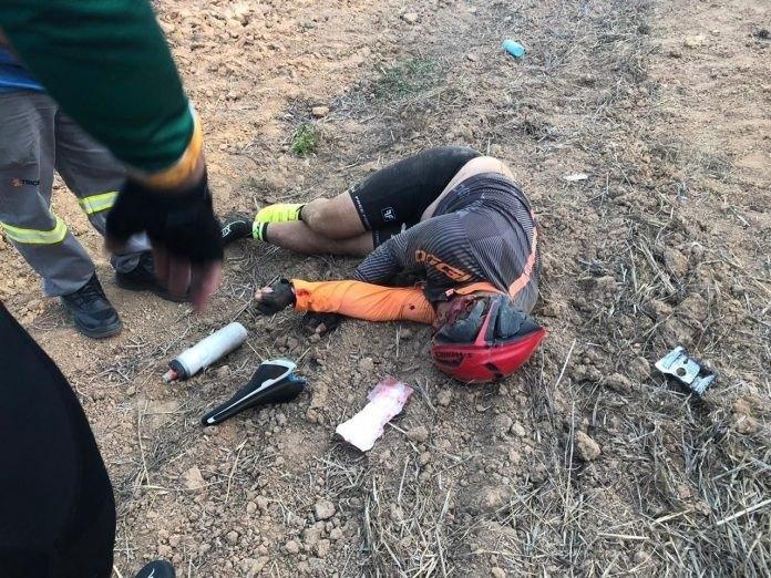 TRÁGICO: Ciclista morre atropelado por caminhonete da Energisa em rodovia de RO