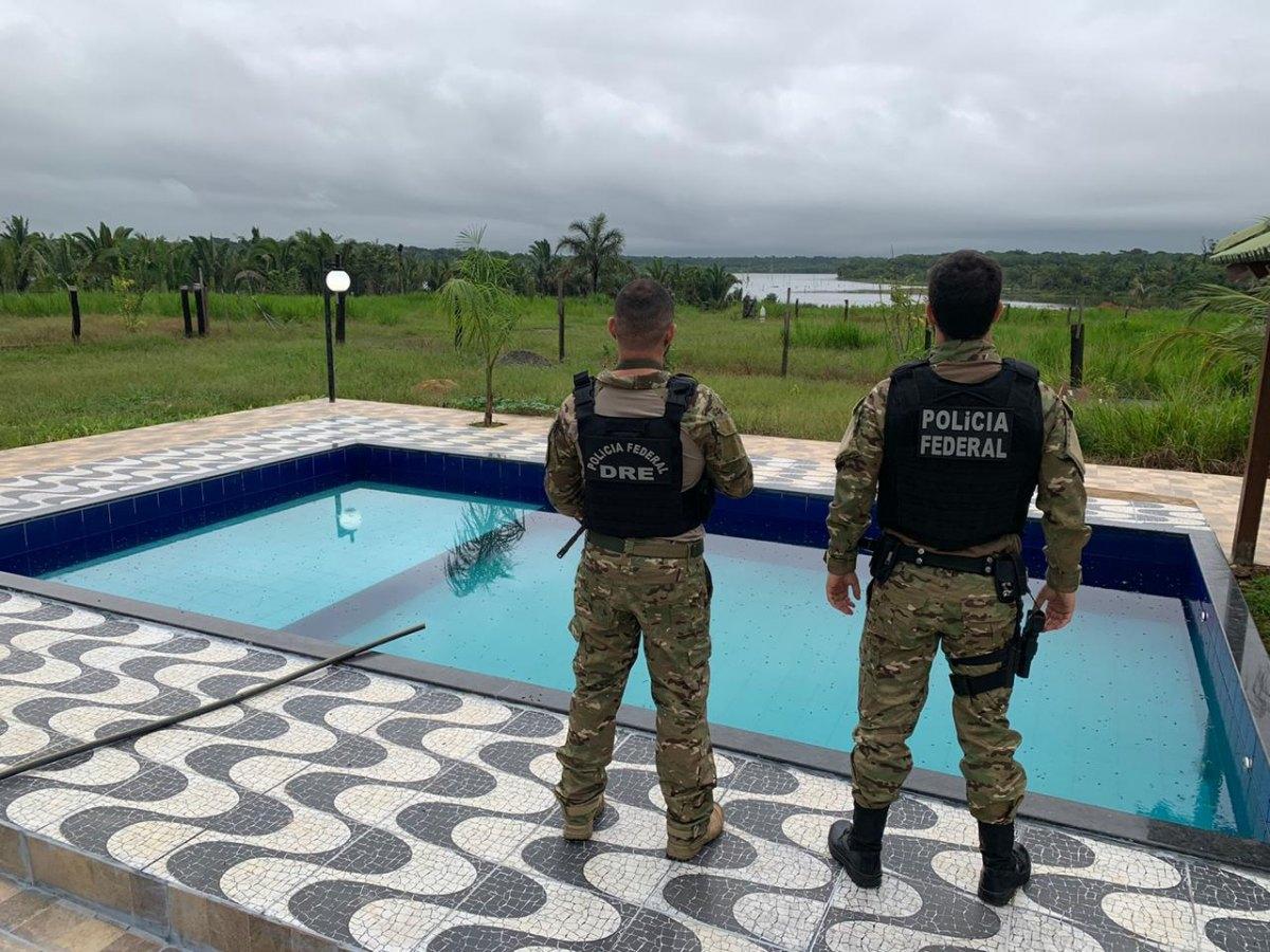 'DOIS IRMÃOS': PF realiza operação em sítio de luxo de um dos maiores traficantes de Rondônia