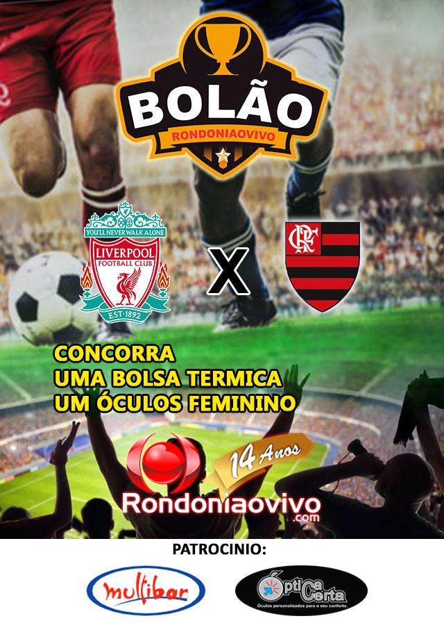 Bolão Rondoniaovivo Acerte O Placar Do Jogo Flamengo X